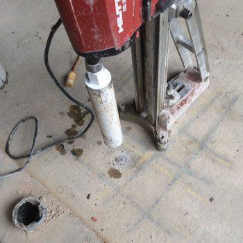 concrete coring tool